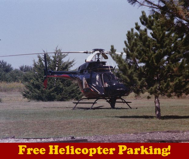 Free Helicopter parking