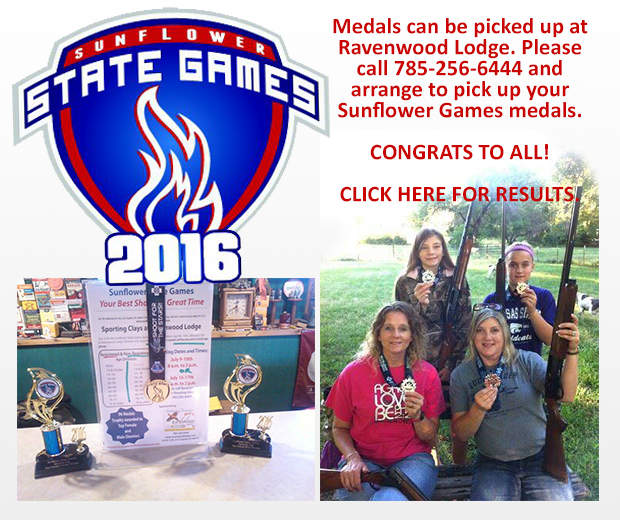 Sunflower State Games 2016 Sporting Clays results